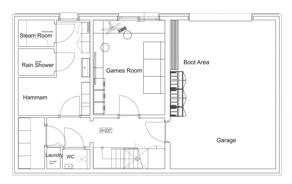 Le Lodge Layout - Level 2